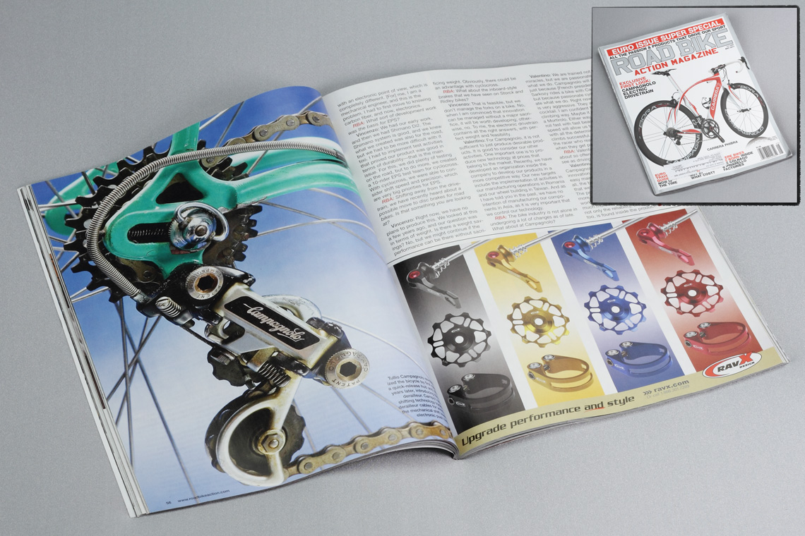 Road Bike Action Magazine Ad